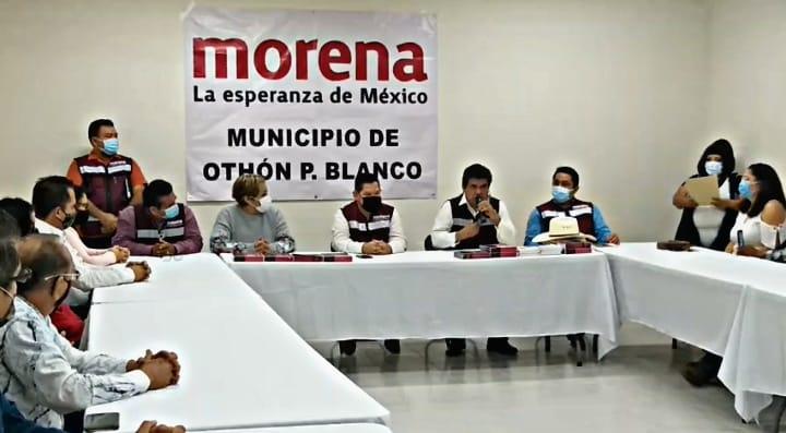 Morenistas dan apoyo a Mario Ulises Lara, aspirante a la candidatura en Chetumal – elquintanarroense