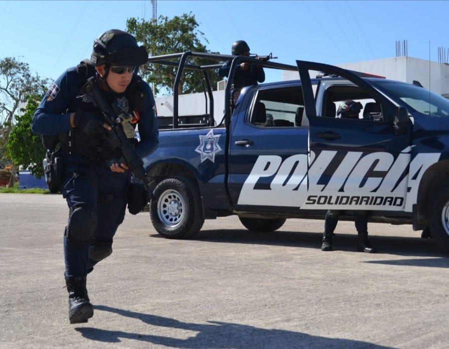Capacitan a policías de Playa del Carmen en materia de Derechos Humanos –  elquintanarroense