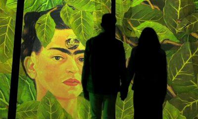 Exposición inmersiva de Frida Kahlo